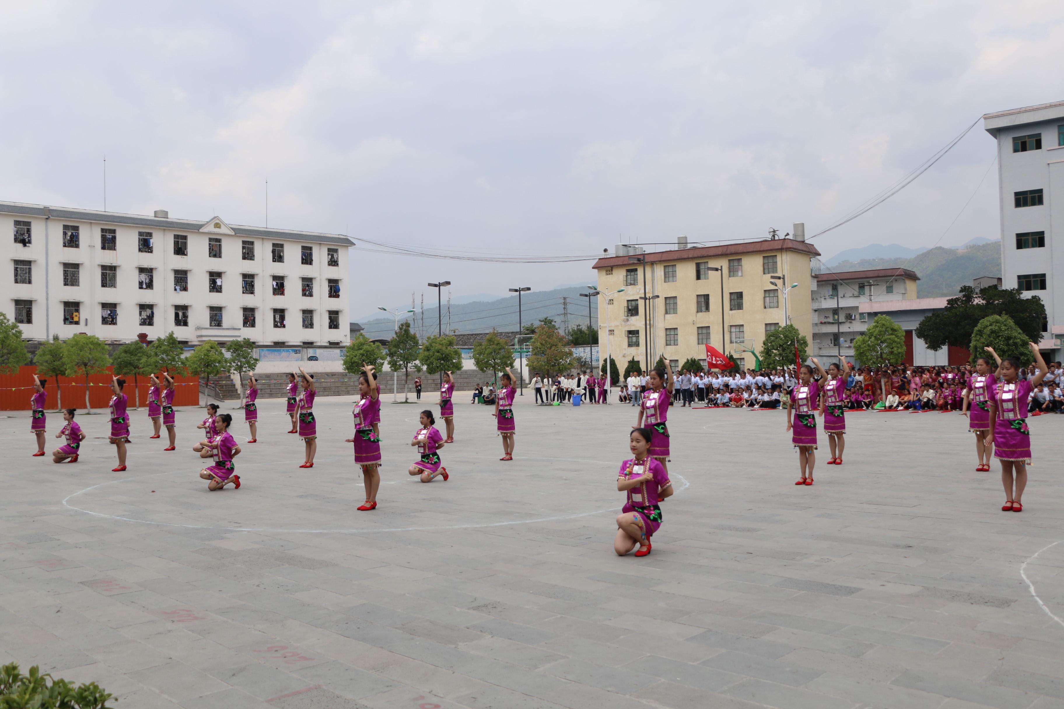 梁河一中2018年蹬窝罗、嘎秧比赛