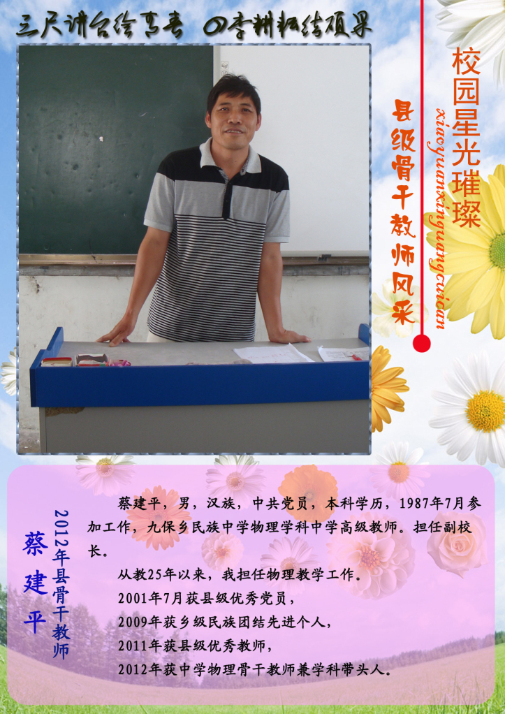 物理骨干教师