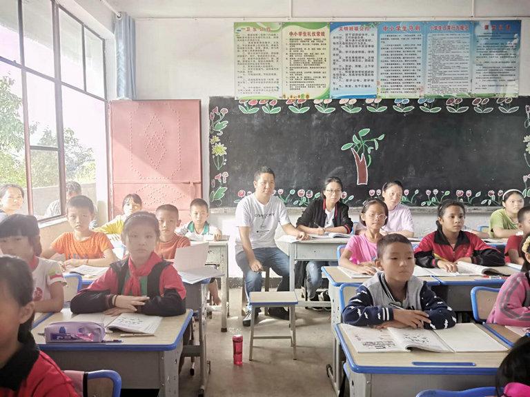 芒东镇帮别小学开展第三期教师公开课