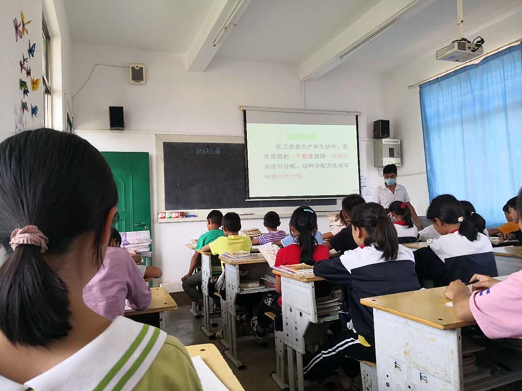 芒东镇那勐小学开展教学研讨活动