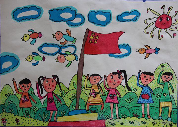 幼儿园大班画画图片