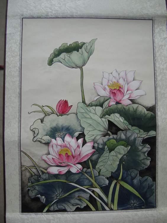 梁河县教育系统2010年教师节绘画比赛获奖教师作品图片